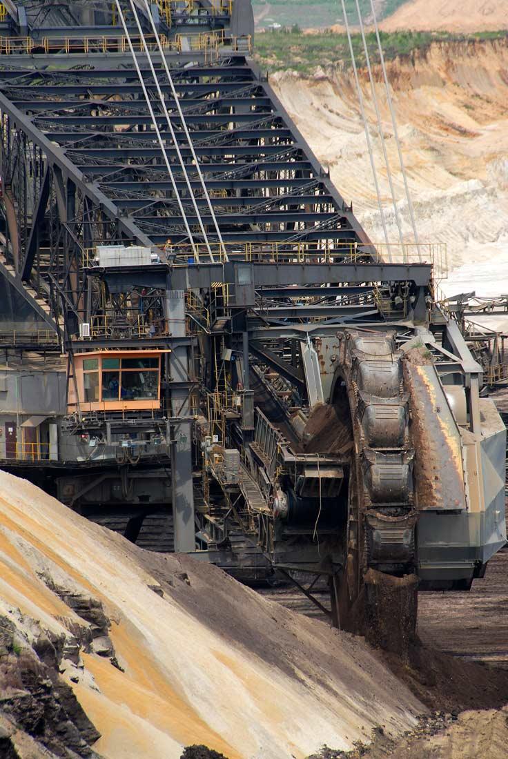 Schaufelradbagger SRS 6300  - Vattenfall Europe Mining AG