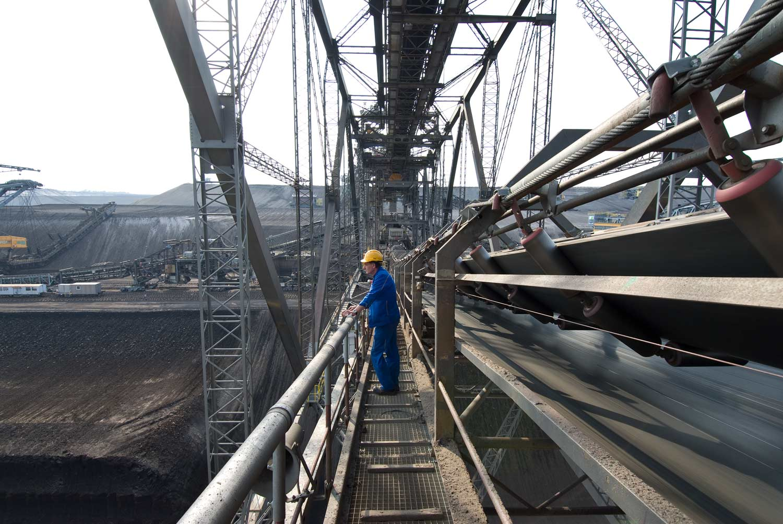 Abraumförderbrücke F60  - Vattenfall Europe Mining AG