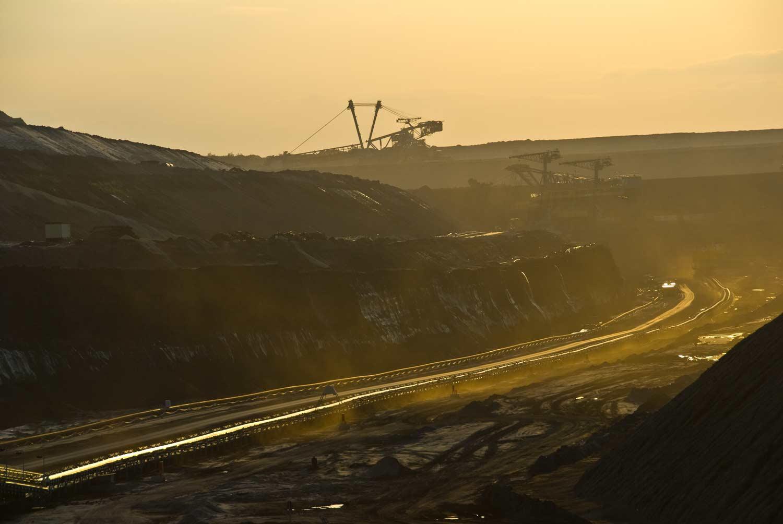 Kohleabförderungsanlage   - Vattenfall Europe Mining AG