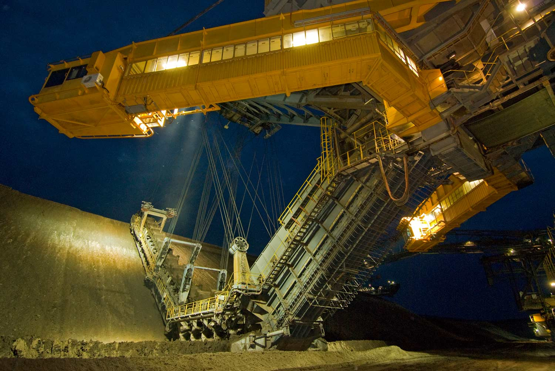 Eimerkettenbagger ES3750  - Vattenfall Europe Mining AG