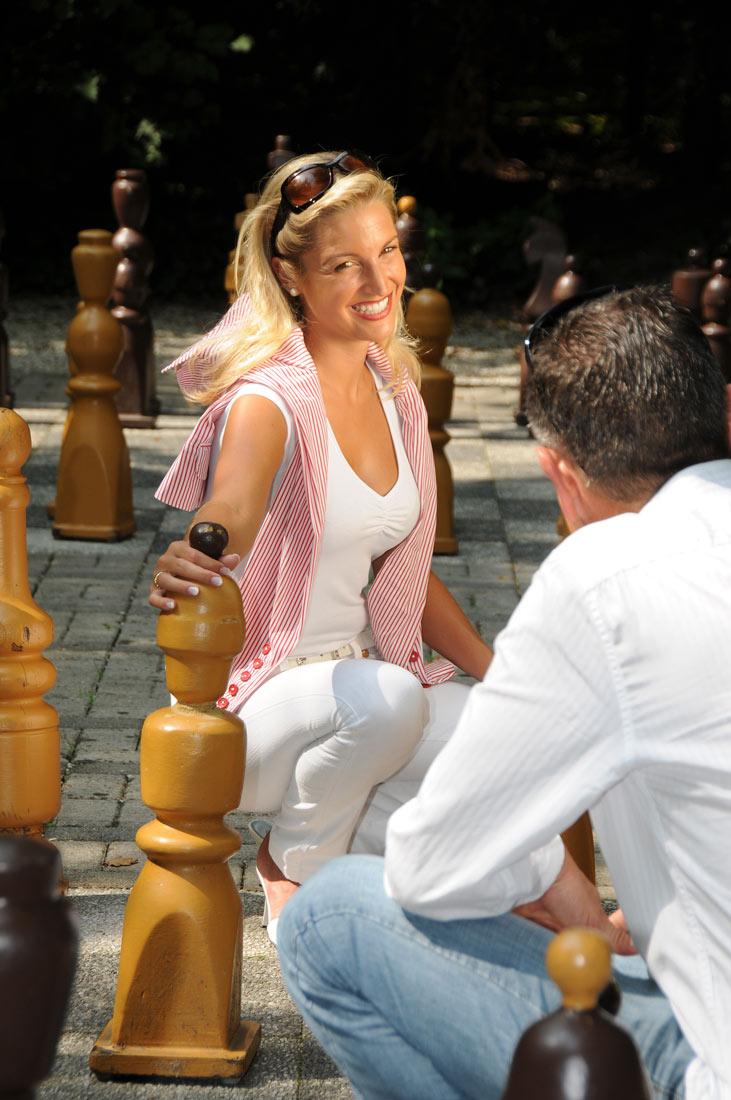 Schachspiel im Kurpark - Bad Füssing