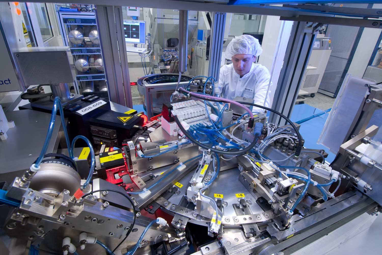 Drucksensor Fertigung    - Technologies AG Regensburg