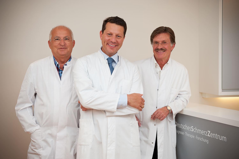 Dr.med. Günter Schütze, Dr.med. Richard Ibrahim und Dr.med. Martin Gessler   - Deutsches Schmerzzentrum  München
