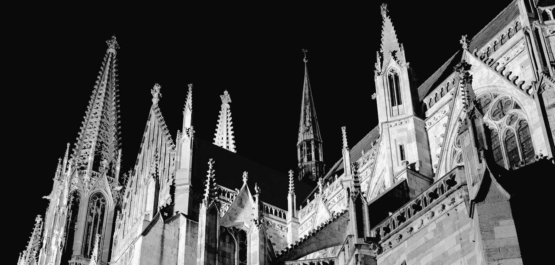 Kathedrale im Licht