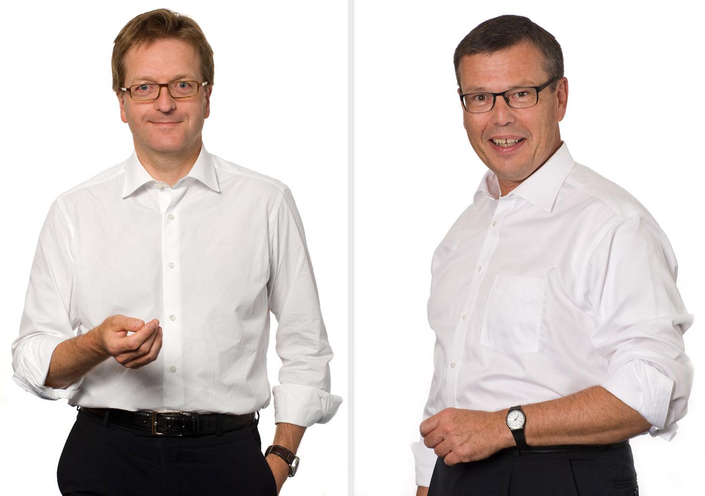 Dr. Nicolas Maier-Scheubeck, Geschäftsführer und Sprecher der Geschäftsführung und Michael Rohde, Geschäftsführer - Maschinenfabrik Reinhausen GmbH