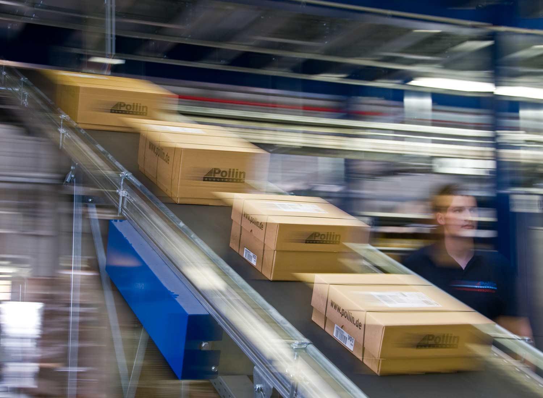 Paket Versand - Pollin Electronic GmbH