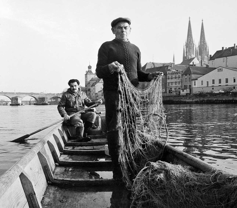 Die letzten Berufsfischer von Regensburg - Regensburg 1984