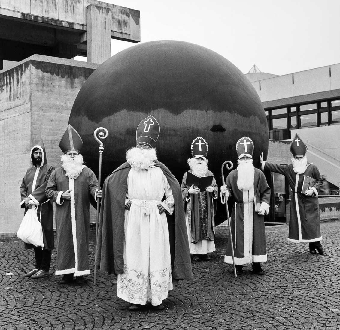Studenten als Nikoläuse - Regensburg 1985