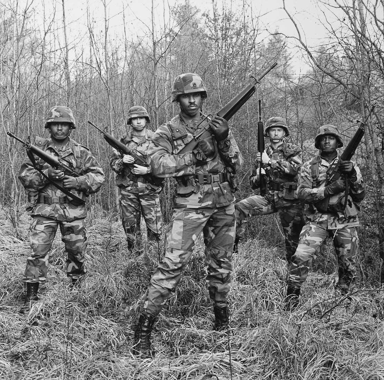 US-Soldaten - Hohenfels 1987