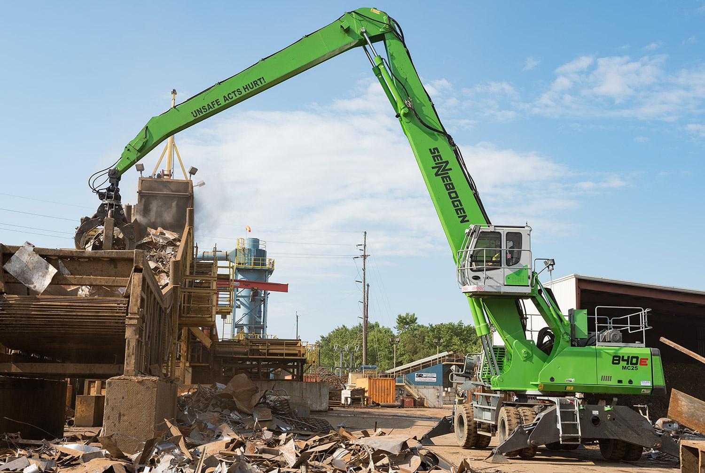 Sennebogen 840 - Sadoff Metals - Fond Du Lac, Wisconsin, U.S.A.