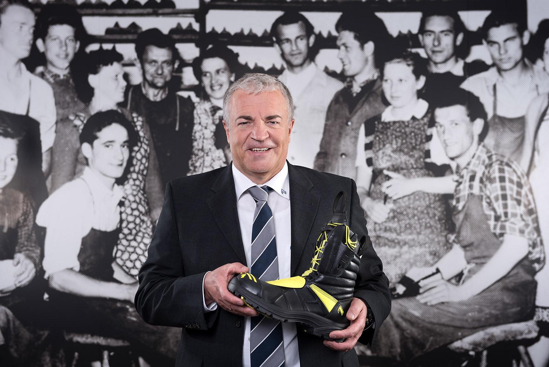 Ewald Haimerl - Geschäftsführerder Haix Schuhe Produktions und Vertriebs GmbH
