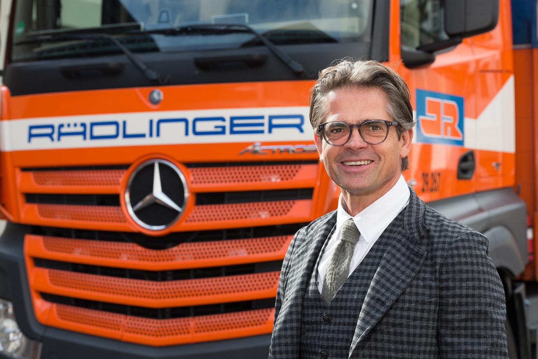 Josef Rädlinger - Geschäftsführer der Josef Rädlinger Bauunternehmen GmbH