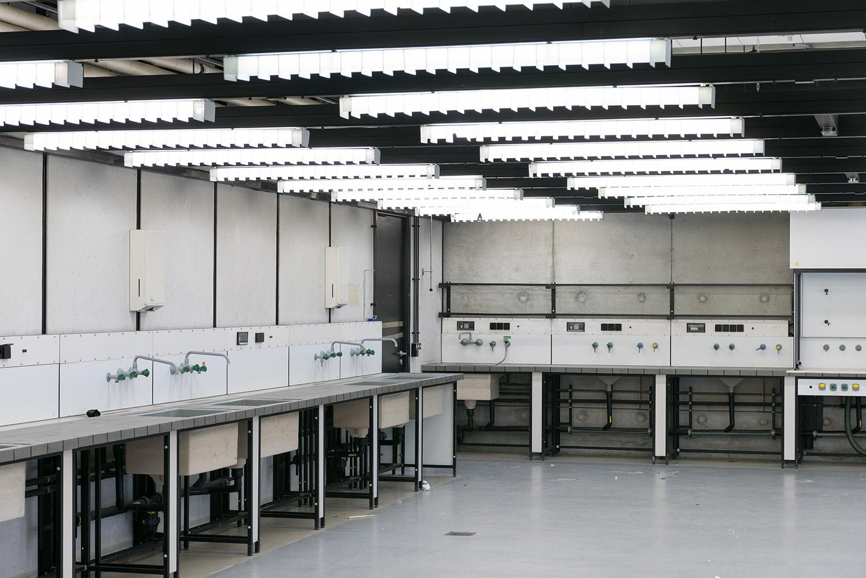 Doku vor Abriss - Laborraum in der Alten Biologie - Universität Regensburg