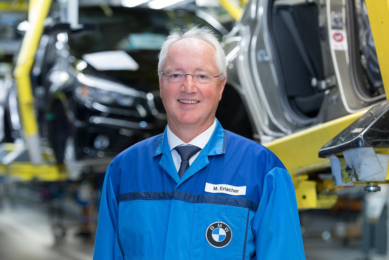 Manfred Erlacher - Werkleiter des BMW Group Werkes Regensburg
