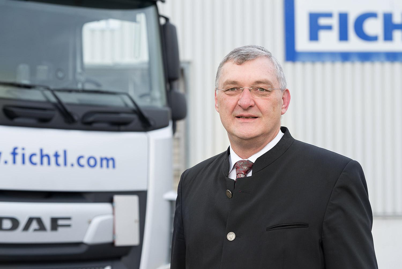 Manfred-Jürgen Fichtl - Geschäftsführer der Fichtl Logistik Services GmbH