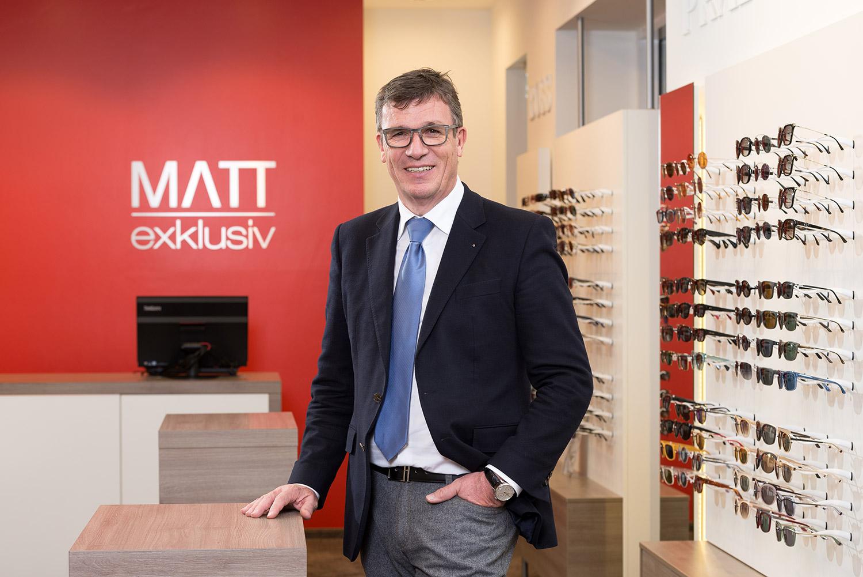 Michael Matt -  Geschäftsführer der Optik Matt GmbH & Co. KG