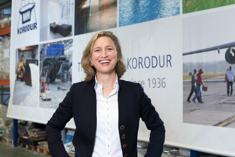Nikola Heckmann - Mitglied der Geschäftsführung der Korodur International GmbH und Korodur Westphal Hartbeton GmbH & Co. KG