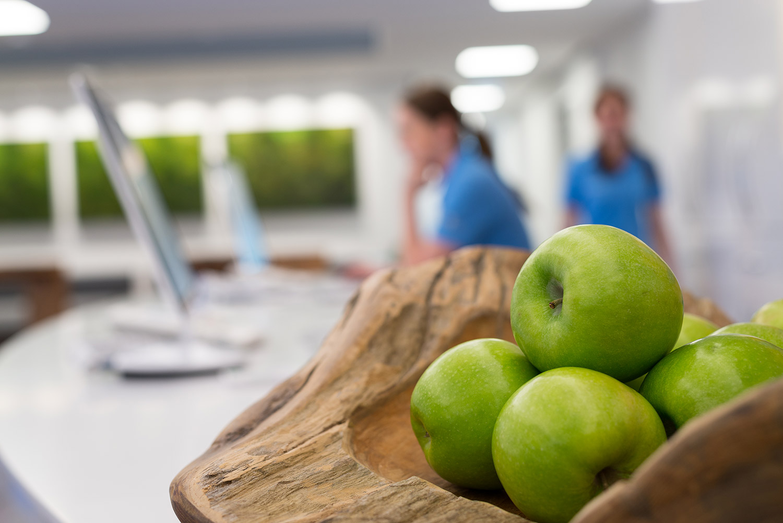 Obst für Patienten - Artos Gemeinschaftspraxis, Regensburg