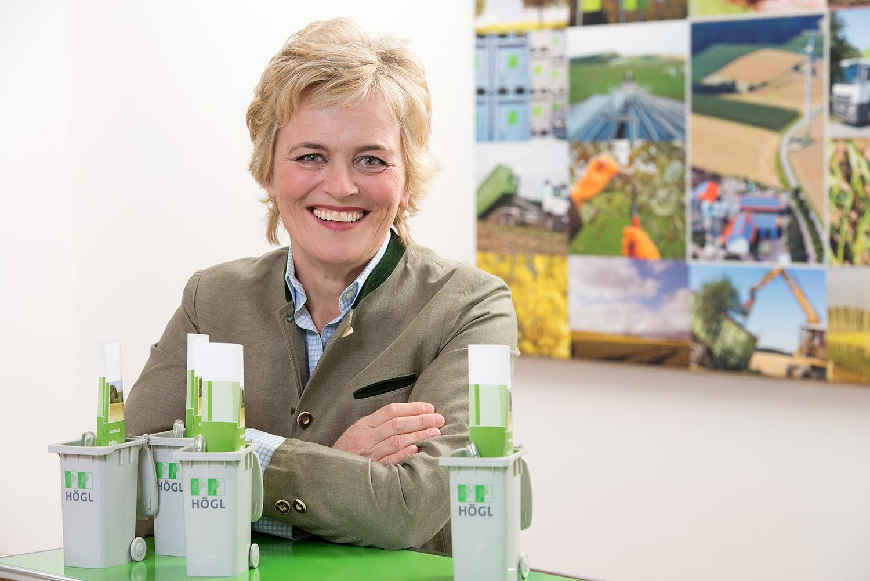 Rita Högl - Geschäftsführerein der Högl Kompost und Recycling GmbH