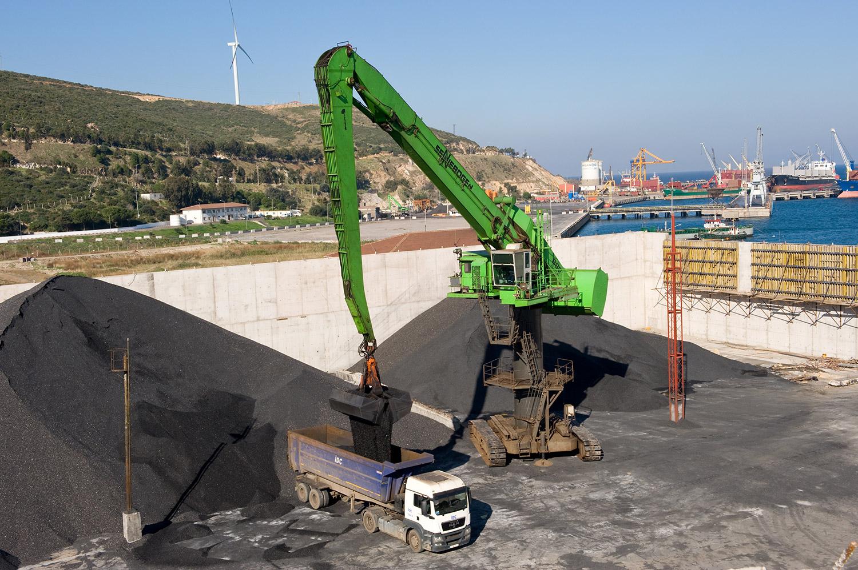 Sennebogen Balancer 880 EQ - IDC Pro Logistic Aliga Port - Izmier, Türkei