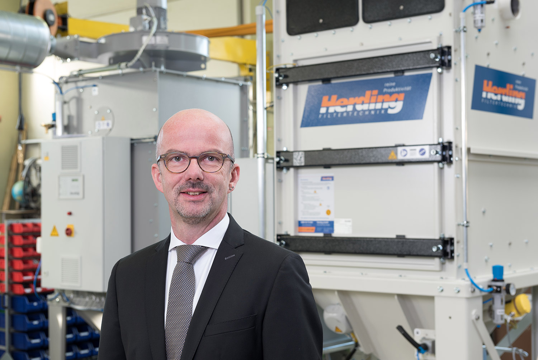 Urs Herding - CEO Geschäftsführer der Herding GmbH Filtertechnik
